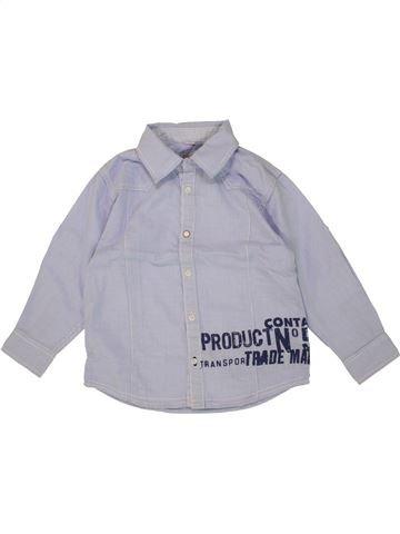 Chemise manches longues garçon CONFETTI violet 4 ans hiver #1464080_1