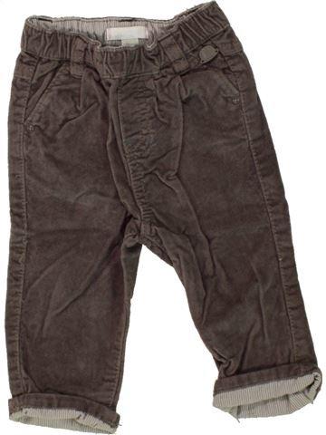 Pantalon fille OBAIBI marron 6 mois hiver #1464099_1