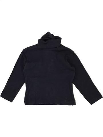 Camiseta de cuello alto niño 3 SUISSES negro 6 meses invierno #1464129_1