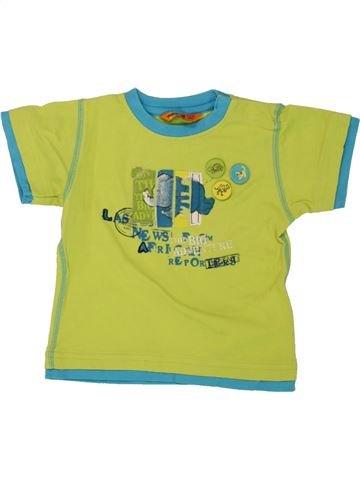 T-shirt manches courtes garçon MAYORAL vert 9 mois été #1464292_1