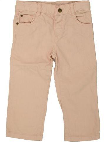 Pantalón niña BOUT'CHOU beige 18 meses invierno #1464565_1