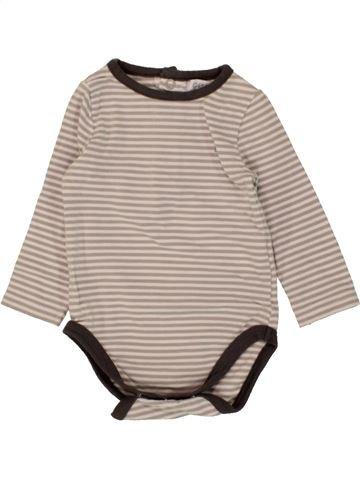 T-shirt manches longues garçon OKAIDI beige 3 mois hiver #1464595_1
