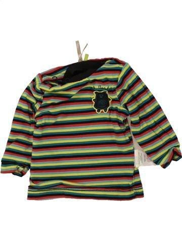 T-shirt manches longues garçon ORCHESTRA marron 6 mois hiver #1464675_1