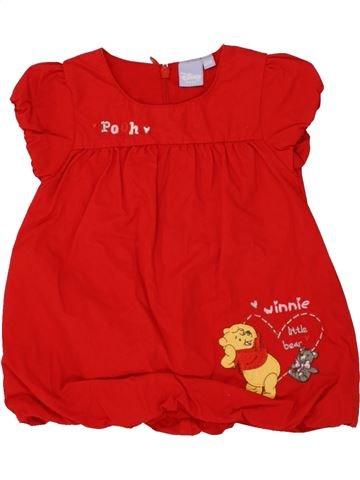 Robe fille DISNEY rouge 3 mois hiver #1464685_1