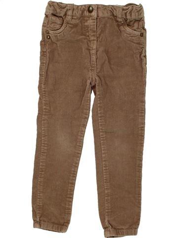 Pantalón niña TAPE À L'OEIL marrón 3 años invierno #1464714_1