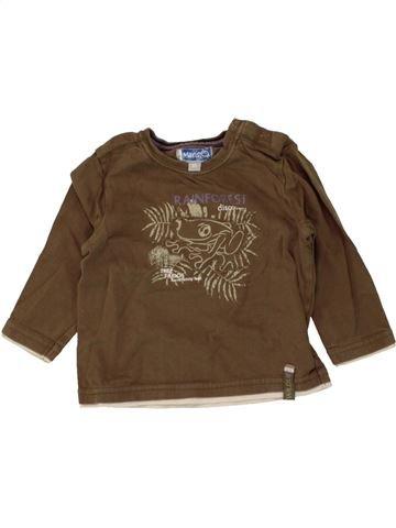 Camiseta de manga larga niño JBC marrón 6 meses invierno #1464935_1