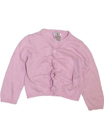 Gilet fille BABY rose 12 mois hiver #1465782_1