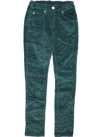Pantalon fille YIGGA vert 11 ans hiver #1466134_1