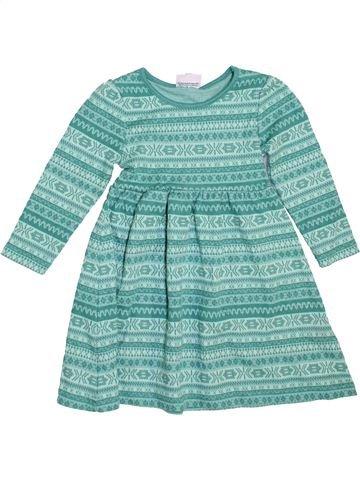 Robe fille TOPOLINO bleu 3 ans hiver #1466731_1