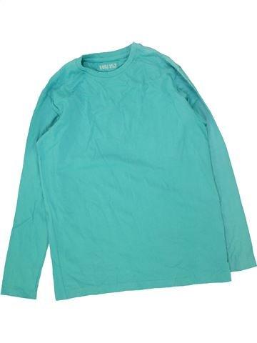 T-shirt manches longues garçon YFK bleu 12 ans hiver #1466760_1