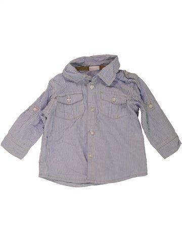 Chemise manches longues garçon LINDEX gris 6 mois hiver #1467521_1