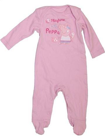 Pyjama 1 pièce fille PEPPA PIG rose 1 mois été #1467925_1