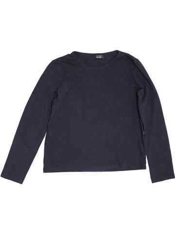 T-shirt manches longues fille KYLIE bleu 10 ans hiver #1468118_1