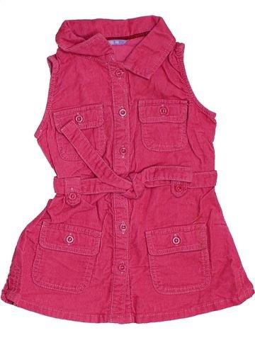 Vestido niña HEMA rosa 6 meses invierno #1468494_1