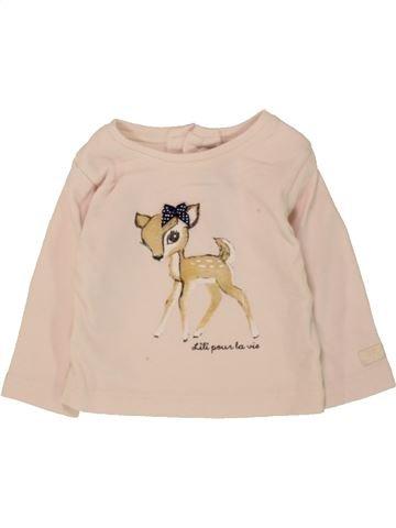 Camiseta de manga larga niña LILI GAUFRETTE beige 3 meses invierno #1468657_1
