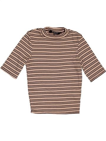 T-shirt col roulé fille NEW LOOK beige 13 ans hiver #1468815_1
