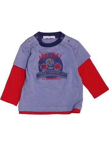 Camiseta de manga larga niño ABSORBA violeta 6 meses invierno #1469119_1