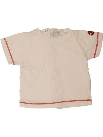 T-shirt manches courtes garçon KIMBALOO bleu 3 mois été #1469456_1