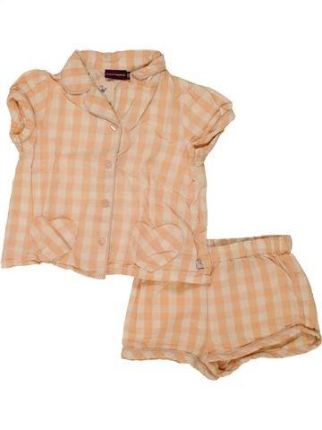 Pyjama 2 pièces fille SERGENT MAJOR beige 2 ans été #1469741_1