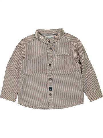 Camisa de manga larga niño OBAIBI gris 2 años invierno #1469821_1