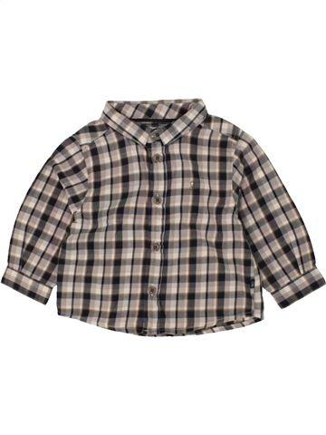 Camisa de manga larga niño OBAIBI gris 6 meses invierno #1469827_1
