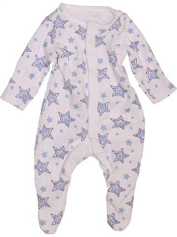 Pyjama 1 pièce garçon MINI CLUB blanc prématuré été #1469901_1