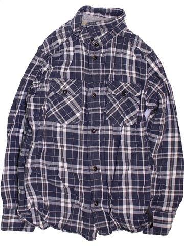 Chemise manches longues garçon LH BY LA HALLE bleu 10 ans hiver #1470479_1