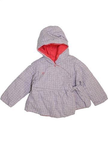 Veste fille OKAIDI gris 12 mois hiver #1470593_1