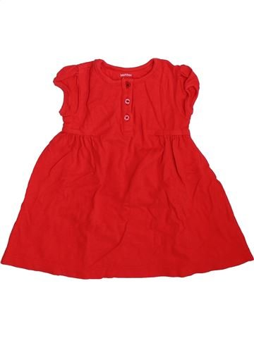 Robe fille BOUT'CHOU rouge 9 mois hiver #1470804_1