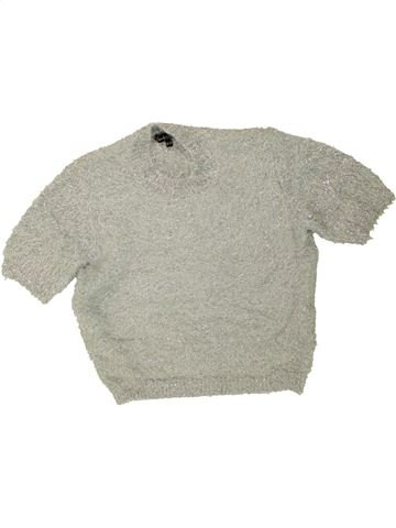 Pull fille CANDY COUTURE gris 13 ans hiver #1472213_1