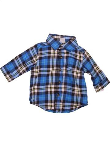 Camisa de manga larga niño CARTER'S azul 3 meses invierno #1472624_1