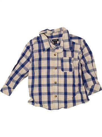 Chemise manches longues garçon KIABI blanc 12 mois hiver #1472732_1