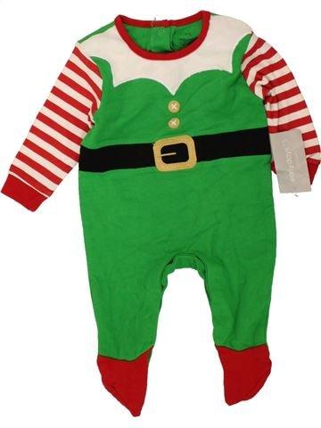 Pijama de 1 pieza niño PRIMARK verde 3 meses verano #1472771_1