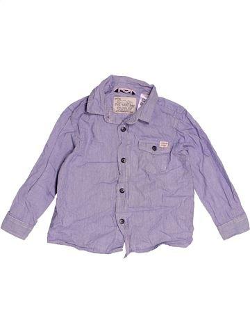 Chemise manches longues garçon ZARA violet 2 ans hiver #1473089_1