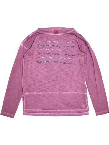 T-shirt manches longues fille S.OLIVER violet 12 ans hiver #1473092_1