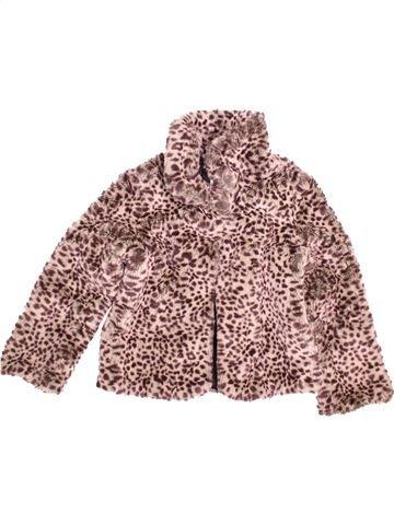 Abrigo niña MARKS & SPENCER marrón 10 años invierno #1473583_1