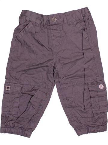 Pantalon garçon SMILE gris 12 mois hiver #1474165_1