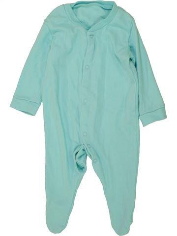 Pijama de 1 pieza niño SANS MARQUE azul 3 meses verano #1476026_1
