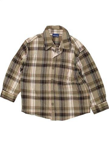 Camisa de manga larga niño CHEROKEE verde 4 años invierno #1476531_1