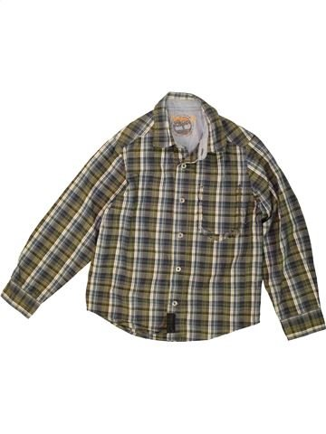 Chemise manches longues garçon TIMBERLAND marron 8 ans hiver #1476564_1