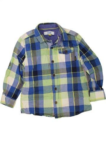 Chemise manches longues garçon TED BAKER bleu 5 ans hiver #1476715_1