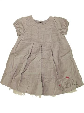 Robe fille MOTHERCARE gris 18 mois hiver #1476718_1