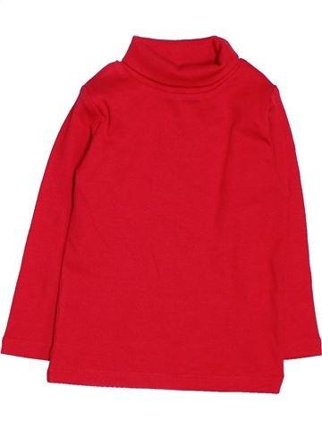 T-shirt col roulé fille NEXT rouge 12 mois hiver #1476872_1
