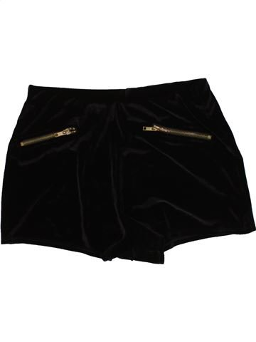 Short - Bermuda fille CANDY COUTURE noir 13 ans hiver #1477895_1