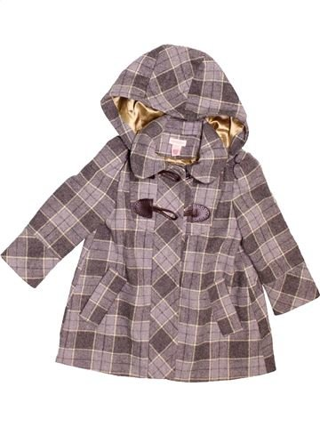 Manteau fille MONSOON marron 4 ans hiver #1478482_1