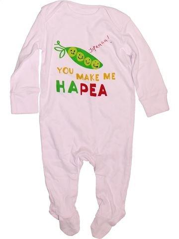 Pyjama 1 pièce garçon LADYBIRD rose 6 mois été #1478644_1