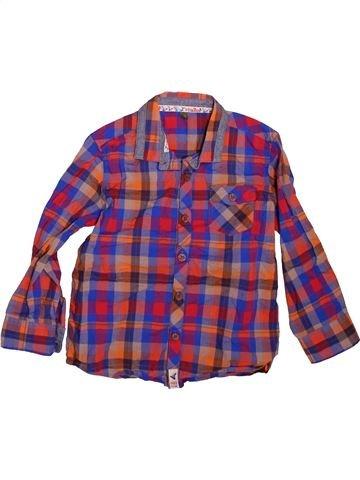 Chemise manches longues garçon TED BAKER violet 5 ans hiver #1478714_1