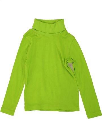 Camiseta de cuello alto niño LUPILU verde 4 años invierno #1478739_1