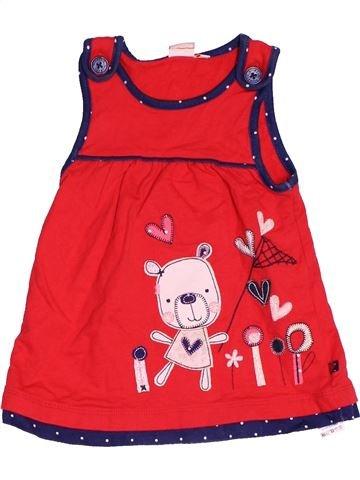Vestido niña DEBENHAMS rojo 6 meses invierno #1479080_1
