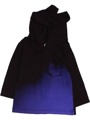 T-shirt manches longues garçon RIVER ISLAND noir 3 mois hiver #1479158_1